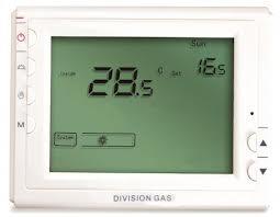 poza Termostat de ambient cu fir DIVISION GAS 908 programabil