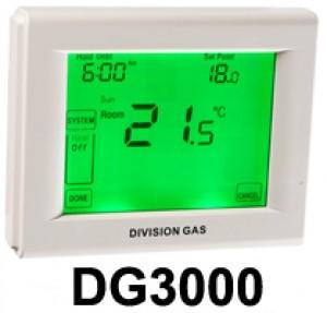 poza Termostat de ambient cu fir si touchscreen DIVISION GAS DG3000