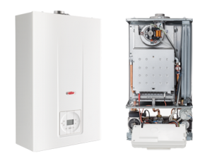 poza Centrala termica in condensare RADIANT RH25/B - 28 kw numai pentru incalzire cu automatizare boiler inclusa