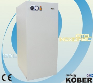 poza Boiler inox cu acumulare  MOTAN 120 litri + Transport GRATUIT