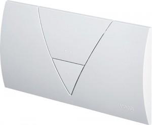 poza Clapeta de actionare Viega seria V model Visign 1, alb alpin