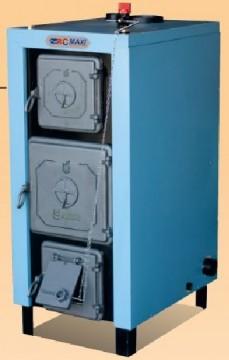 Poza Centrala pe lemne din otel cu usa de fonta C MAXI 20 kw