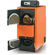 poza Centrala termica pe lemne cu gazeificare ARCA ASPIRO 52 R - 49 kw