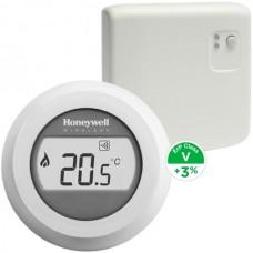 Termostat de ambient fara fir Honeywell Smart Round Y87RF
