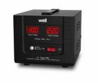 poza Stabilizator automat de tensiune cu servomotor Well Xtreme 500VA
