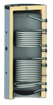 poza Rezervor de acumulare/Puffer cu doua serpentina AQUASTIC, AQPTC21000, 1000 L, izolat