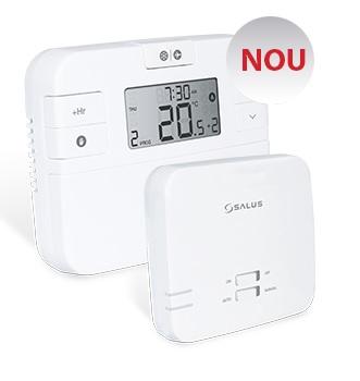 Termostat de ambient fara fir programabil Salus RT510RF