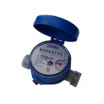 Contor de apa/Apometru  GOBE de apa rece monojet cu mecanism uscat 1/2