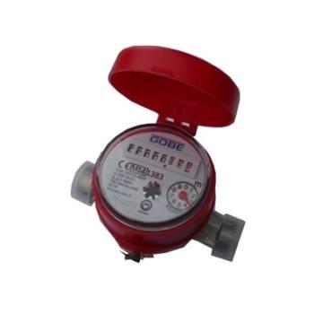 Contor de apa/Apometru  GOBE de apa calda monojet cu mecanism uscat 1/2