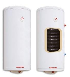 Boiler termoelectric cu o serpentina SUNSYSTEM MB S1 80 - 80 litri