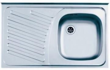 poza Chiuveta bucatarie inox Alveus Compact 10 Leinen DR 80x50