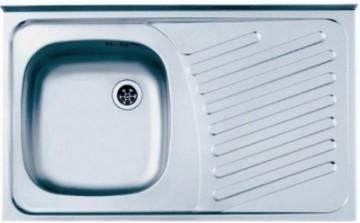 Poza Chiuveta bucatarie inox Alveus Compact 10 Leinen ST 80x50