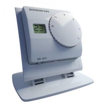 Poza Termostat de ambient fara fir DIVISION GAS 816RF. Poza 3330