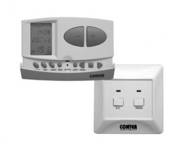 Termostat de ambient  fara fir CONTER CT7W programabil