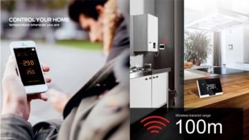 Poza Termostat de ambient cu control prin internet DIVISION GAS DG19 Wi-Fi. Poza 3561