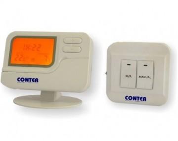 Termostat de ambient  fara fir CONTER T7W programabil