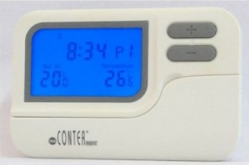 Termostat de ambient cu fir CONTER T7 programabil