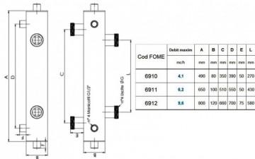 Poza Butelie de egalizare a presiunii izolata FOME 4.5 mc/h. Poza 3693