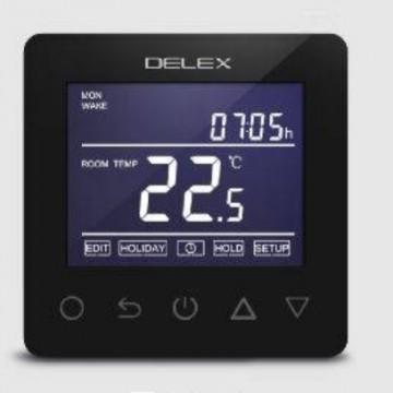 Termostat digital DEL10W , WIFI comandat prin internet, negru