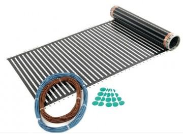 Poza Incalzire electrica in pardoseala sub parchet, Ecofilm Set 1 mp; 130 W, L=2 m. Poza 3845