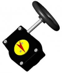 Poza Reductor manual pentru robineti clapa fluture TECOFI DN 40 - DN 100. Poza 4080