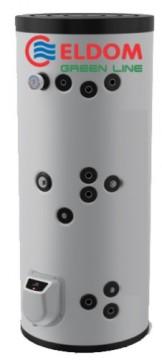 Boiler termoelectric cu doua serpentine ELDOM 300 - 300 litri