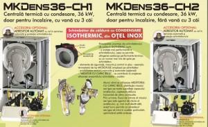 Poza Centrala termica in condensare MOTAN MKDENS 36 CH2 - doar incalzire fara vana cu 3 cai - 36 kW. Poza 4182