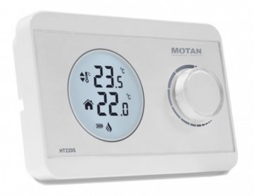 Termostat de ambient digital neprogramabil cu fir Motan HT 220S