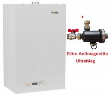 poza Centrala termica Motan Kplus 23 Erp - 23 kw + Filtru antimagnetita Ultra Mag