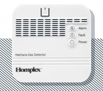 Detector de gaz metan HOMEPLEX HD100