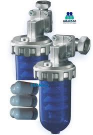 Filtru cu polifosfati AQUAMAX Dosamax Blu + 6 rezerve