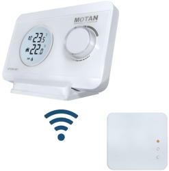 Poza Termostat de ambient digital neprogramabil fara fir Motan HT-220S SET