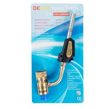 Poza Arzator profesional cu aprindere piezo DELKA pentru valve CGA600
