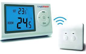 Poza Termostat de ambient programabil fara fir Logictherm R7RF