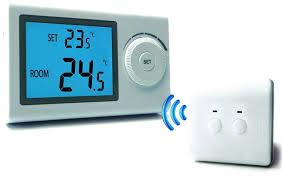 Termostat de ambient  fara fir Logictherm R3RF