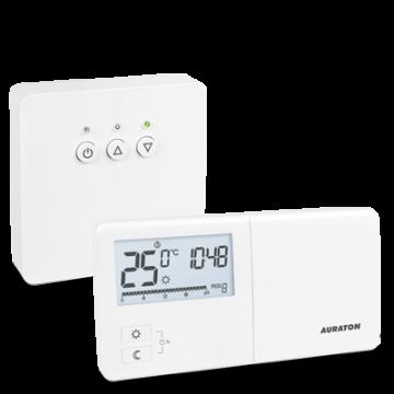 Termostat fara fir programabil Auraton TUCANA SET  (R25 RT) + Livrare GRATUITA*