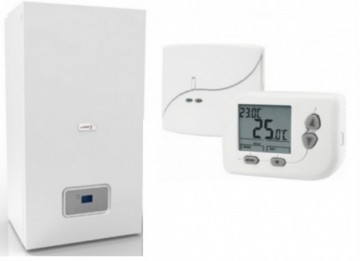 Centrala electrica Protherm Ray 28 kw + Termostat de ambient fara fir programabil Controltherm BT162