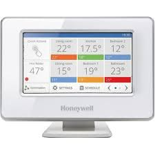 Termostat de ambient smart fara fir Honeywell EvoHome ATP921 R3052 12 zone