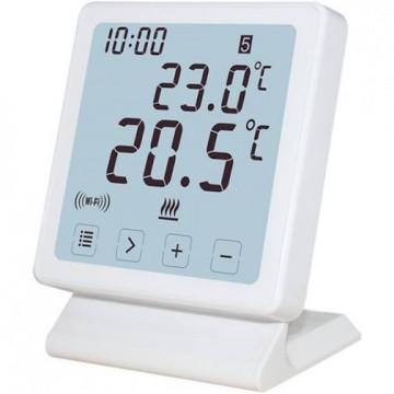 Termostat de ambient fara fir CONTER N10 WiFi controlabil prin internet