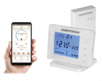 Termostat de ambient programabil fara fir Wi-Fi Computherm E400RF