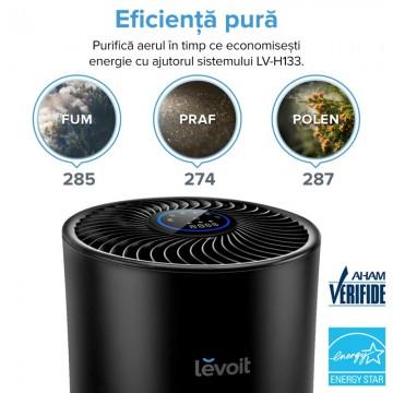 Poza Purificator de aer LEVOIT LV-H133-RBK True HEPA