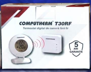 Poza Temostat de ambient fara fir neprogrambail Computherm T30RF