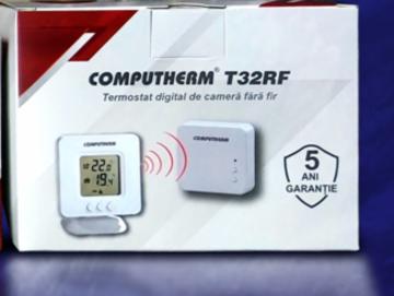 Poza Temostat de ambient fara fir programbail Computherm T32RF