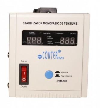 Stabilizator monofazic de tensiune CONTER SVR 500 VA