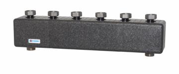 Distribuitor-colector cu schimbator de caldura (separator hidraulic) ESBE GMA531 pentru 3 grupuri de circulatie