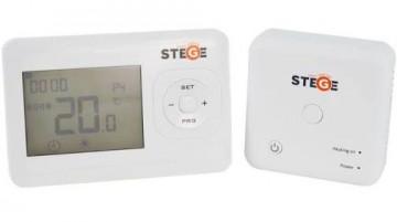 Poza Termostat de ambient fara fir programabil Stege WT200 RF