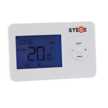 Termostat de ambient cu fir programabil Stege HT200