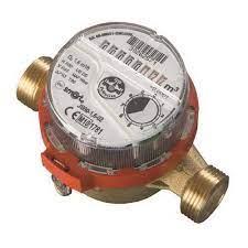 Contor de apa/Apometru de apa calda monojet cu cadran uscat JS SMART 3/4