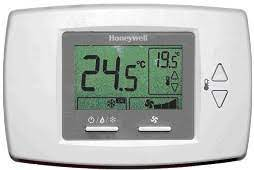 Termostat electronic Honeywell T6590B pentru ventilo-convectoare cu 2 sau 4 țevi