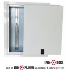Cutie fixa pentru distribuitor incastrabila INNOBOX INNF-3